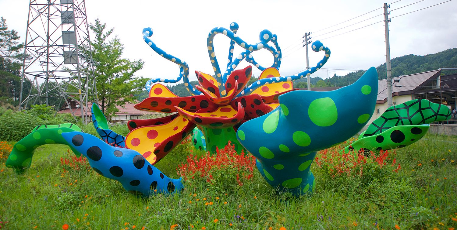 Art Lures Tourists to Tokamachi