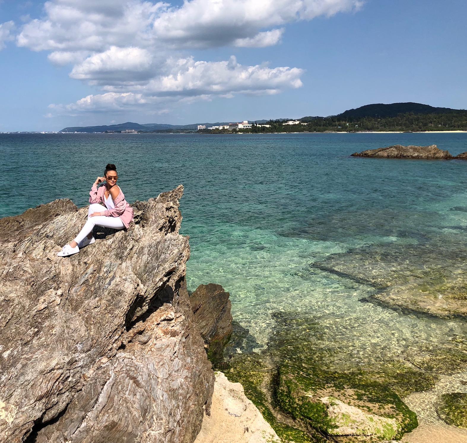 [EXCLUSIVE] Cesca Litton Explores Okinawa