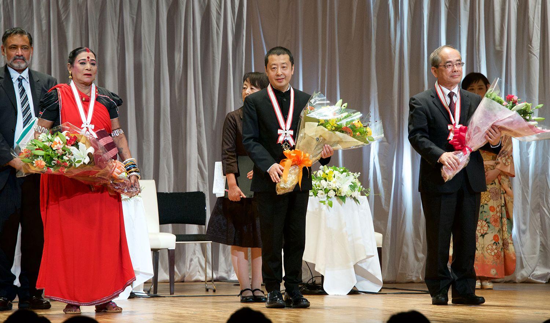 Fukuoka Prize 2018 Winners Awarded