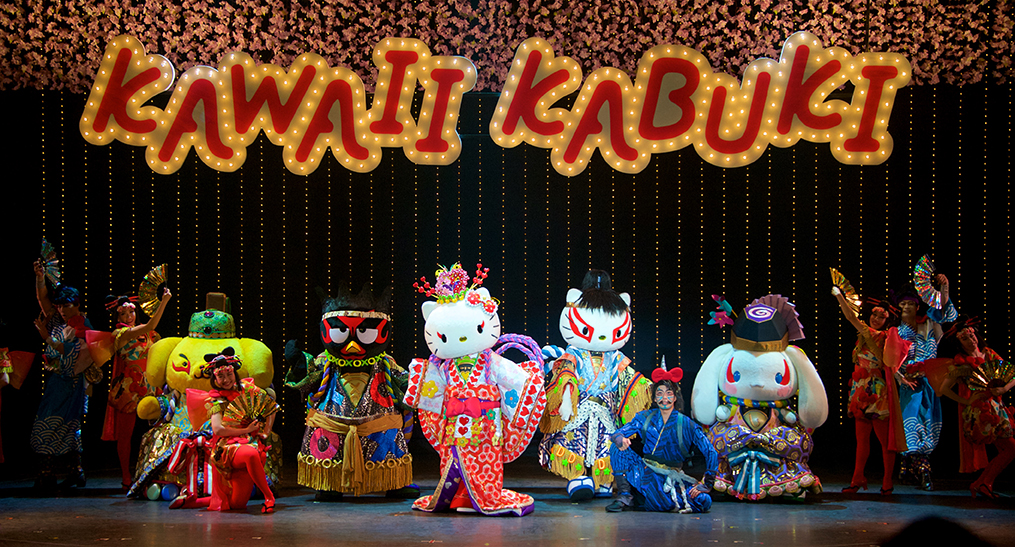 Sanrio Puroland's 'Kawaii Kabuki' is Becoming a Visitor's Favorite Attraction