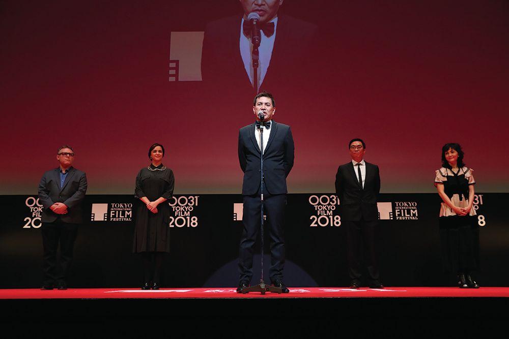 Brillante Mendoza, Jury Members Pick Tokyo Film Fest Winners