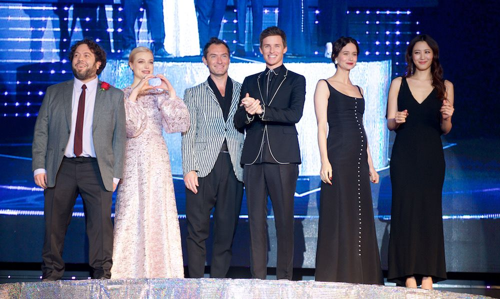 LOOK: 'Fantastic Beasts 2' Holds Star-Studded Premiere in Tokyo