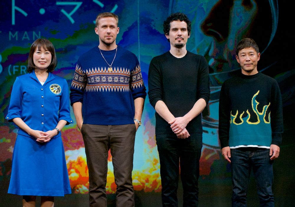 Ryan Gosling, Damien Chazelle Return to Tokyo to Promote 'First Man'