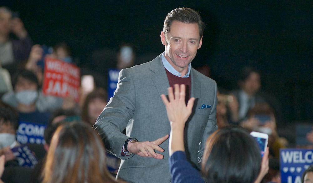 Hugh Jackman Expresses Gratitude to Japan, Meets Fans