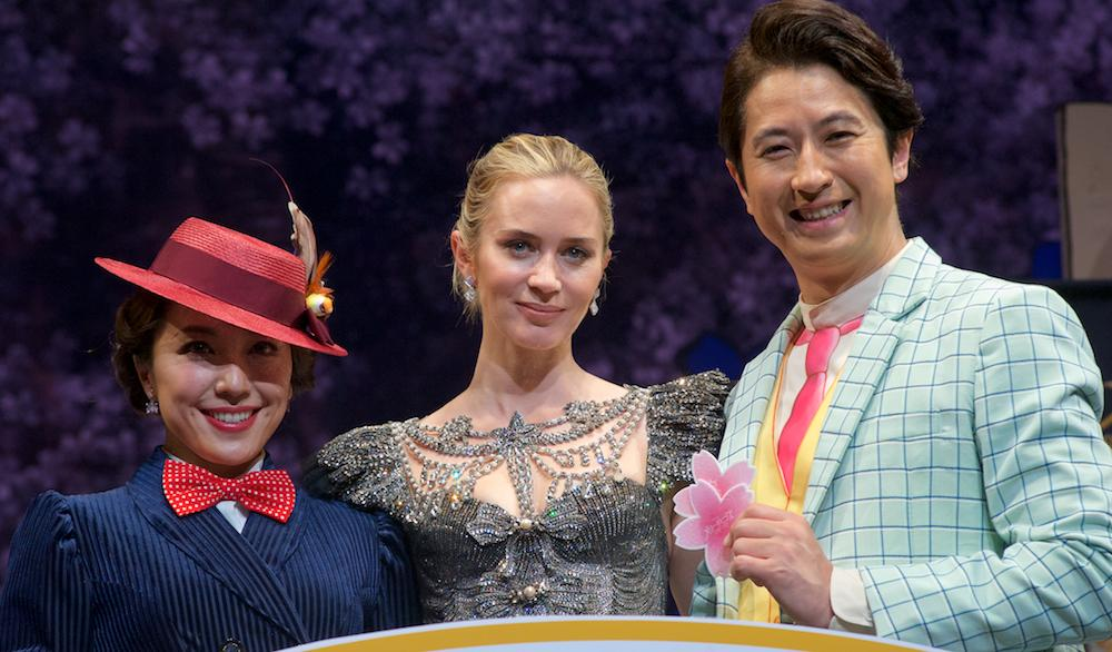 Emily Blunt Visits Japan For the First Time, Promotes 'Mary Poppins Returns'
