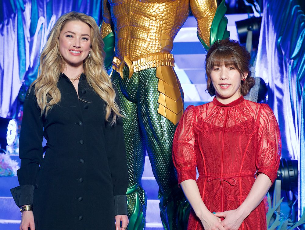 She's Back in Her 'Favorite Place!' Amber Heard Promotes 'Aquaman' in Japan