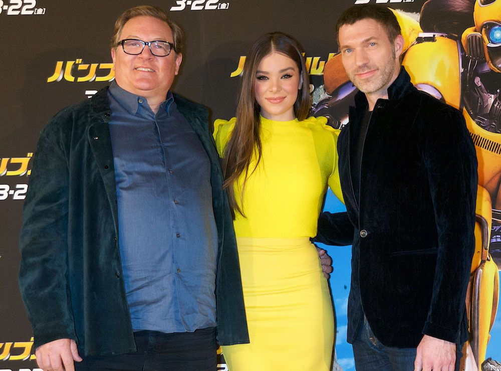 Hailee Steinfeld Hits the Yellow Carpet for 'Bumblebee' Japan Premiere