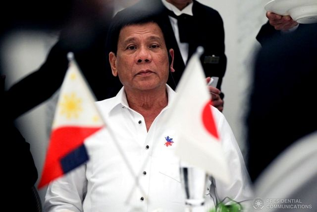 Duterte Coming to Tokyo on Third Trip to Japan