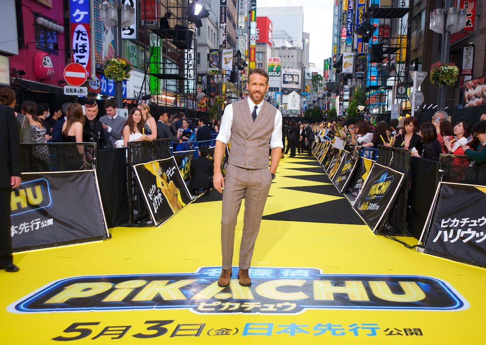 Ryan Reynolds Premieres 'Pokémon: Detective Pikachu' in Japan