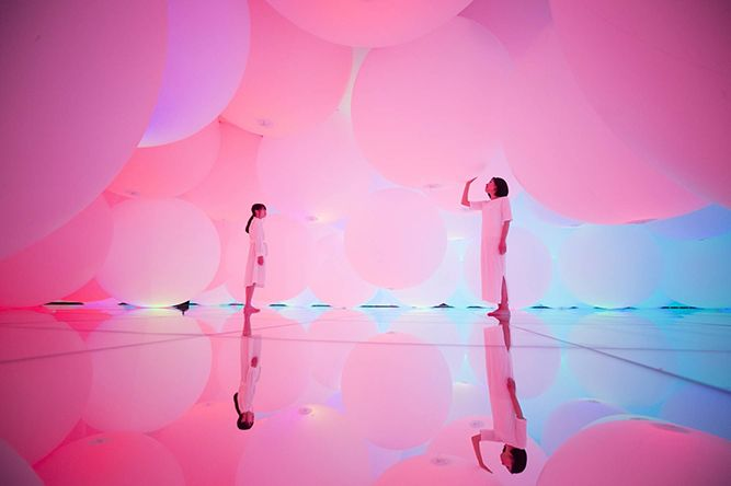 teamLab Planets: A 'Body Immersive' Art Space in Tokyo's Toyosu