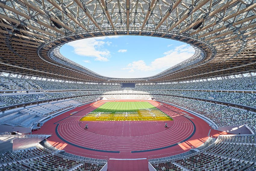 Tokyo 2020 Olympic Stadium Ready to Host the World