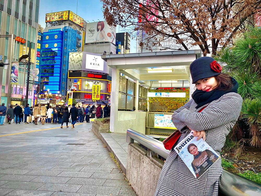Bela Padilla Spends New Year in Tokyo, Meets Filipino-Japanese Journal Team
