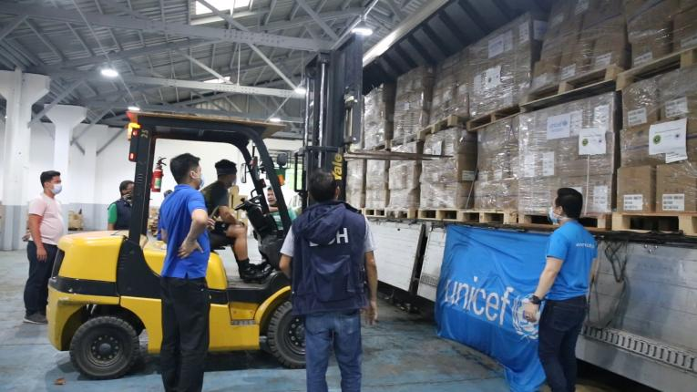 UNICEF Mobilizes $3-M Aid to Philippines' COVID-19 Response