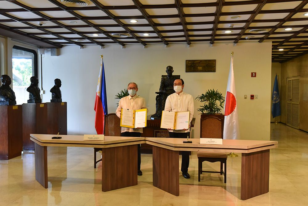 Japan Signs Grant Aid to Assist Philippine Battle vs. COVID-19