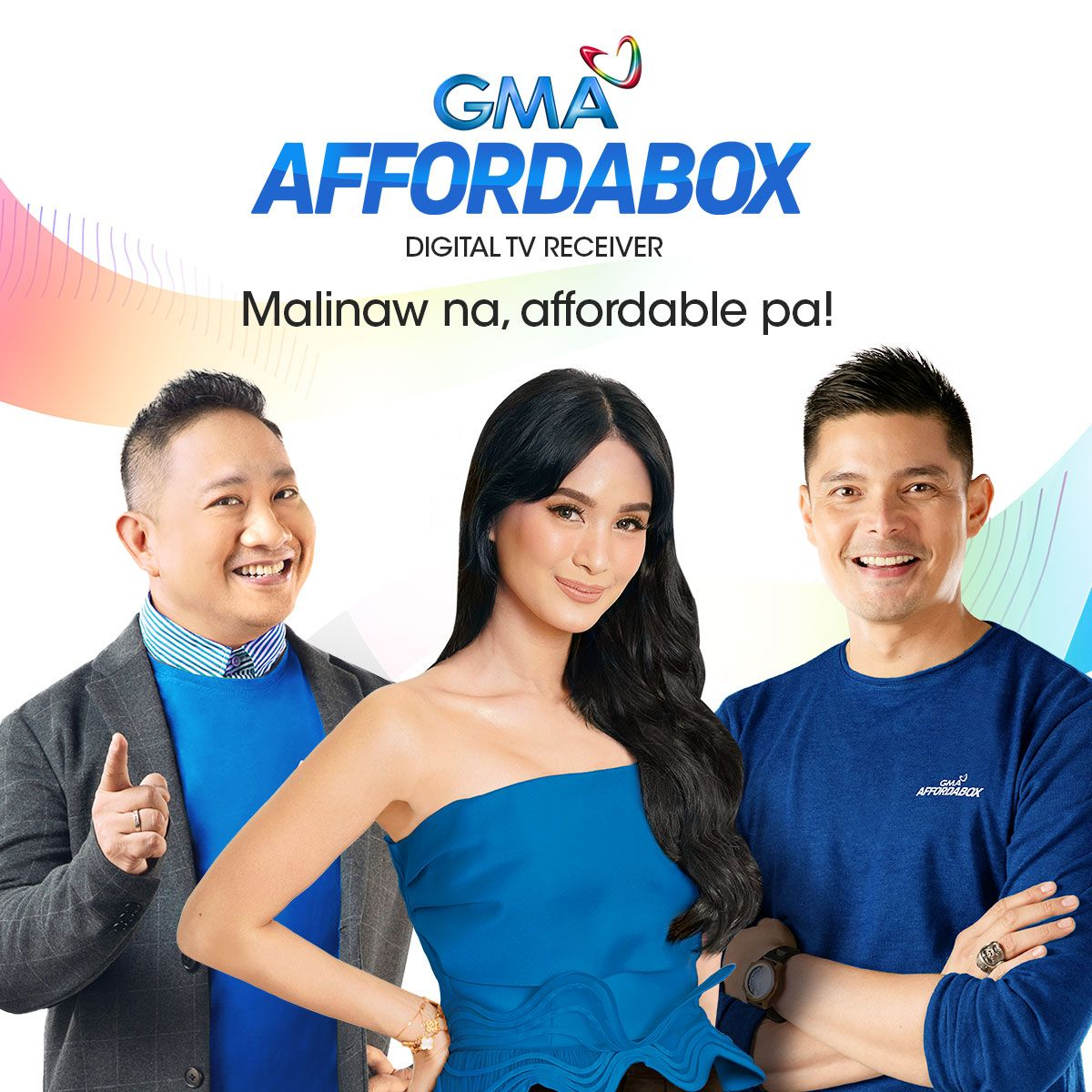 Kapuso Network Unveils 'GMA Affordabox' on its 70th Anniversary