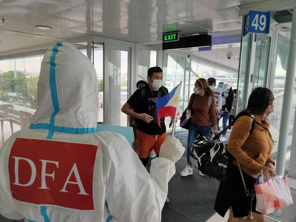 160 Filipinos Stranded in Japan Arrive in PH