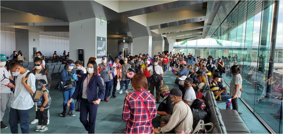 204 More Filipinos Repatriated from Japan