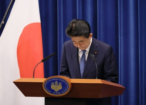 Japan's Shinzo Abe Announces Resignation as Prime Minister Due to Health Issues