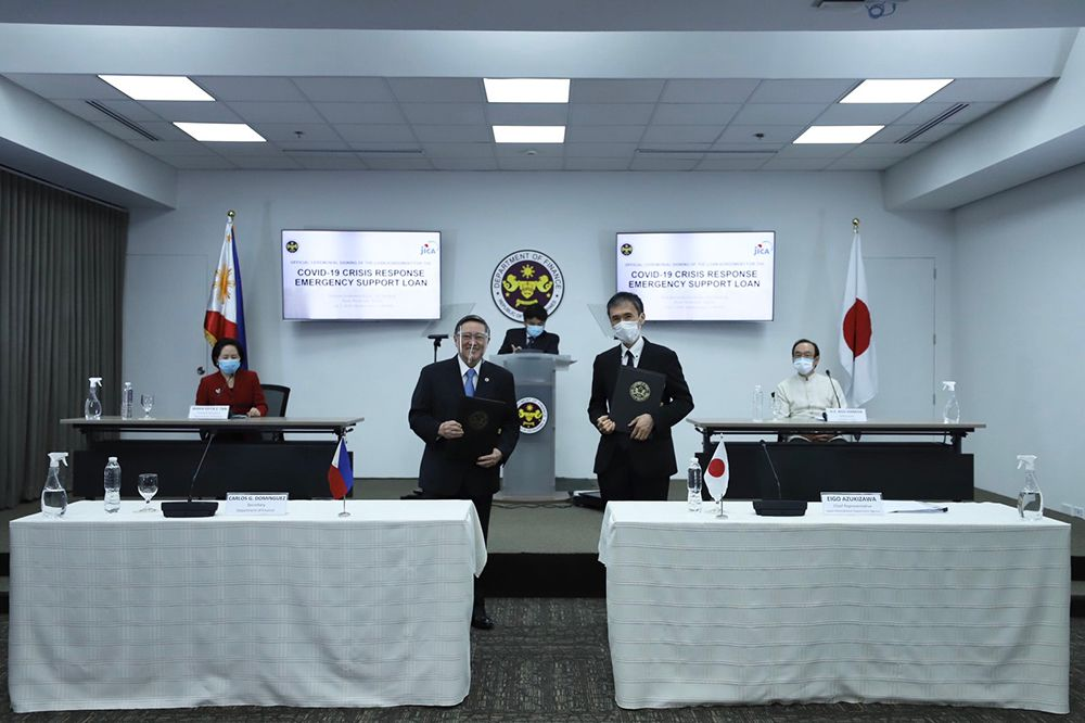 Philippines Thanks Japan for Becoming First Recipient of ¥50B COVID-19 Loan