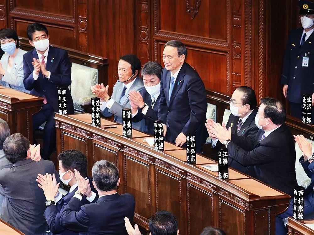 Yoshihide Suga Replaces Abe as Japanese Prime Minister