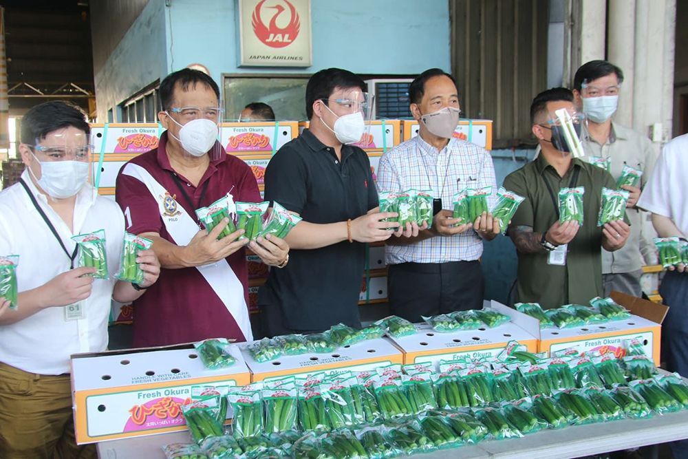 Philippines Starts Exporting Okra to Japan