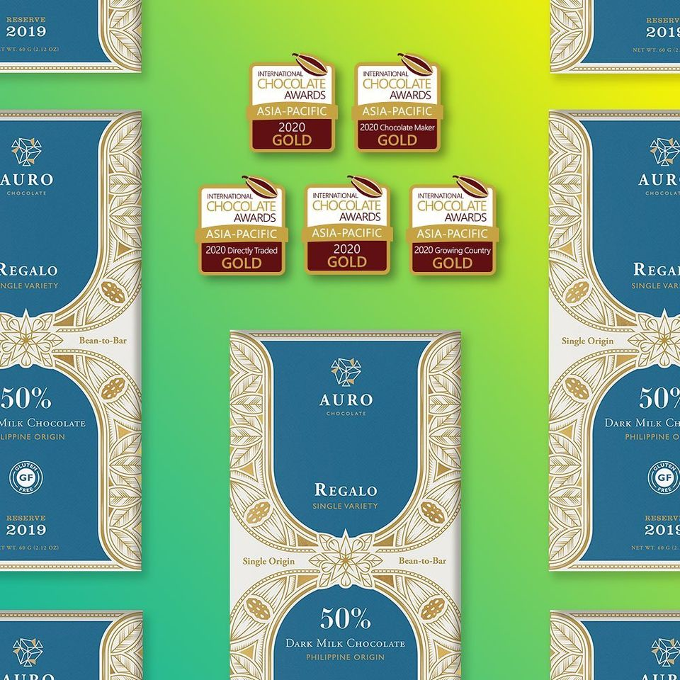 Filipino Chocolate Brand Auro Beats Japan's Meiji in International Choco Awards