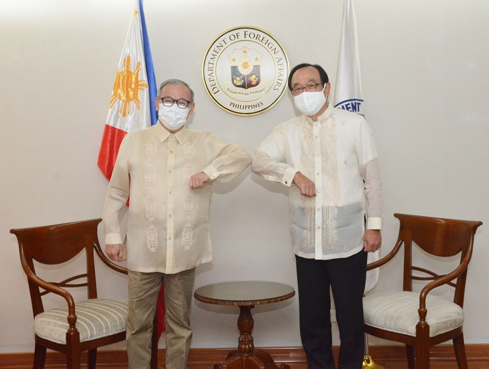 Outgoing Japanese Amb. to PH Bids Farewell to DFA's Locsin
