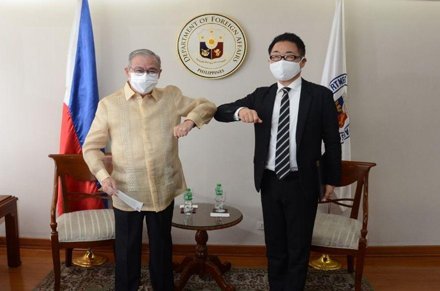 Japanese Ambassador-Designate Pays Courtesy Call on DFA Chief Locsin