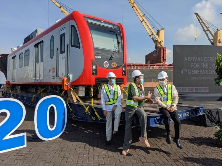 Japan-Funded LRT-1 Train Cars Arrive in Philippines