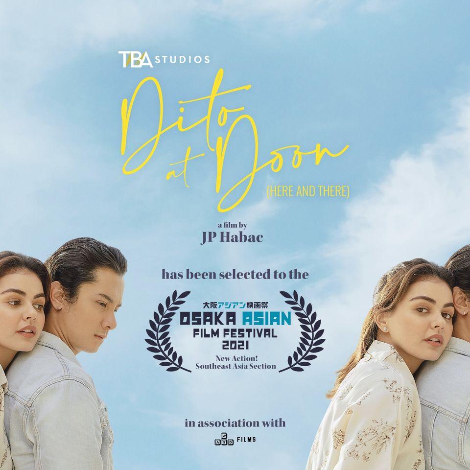 Janine Gutierrez, JC Santos-Starrer 'Dito at Doon' to Premiere at Osaka Film Fest