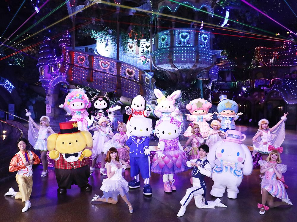 Sanrio Puroland Commences its 30th Anniversary with 'Hello, New World' Parade
