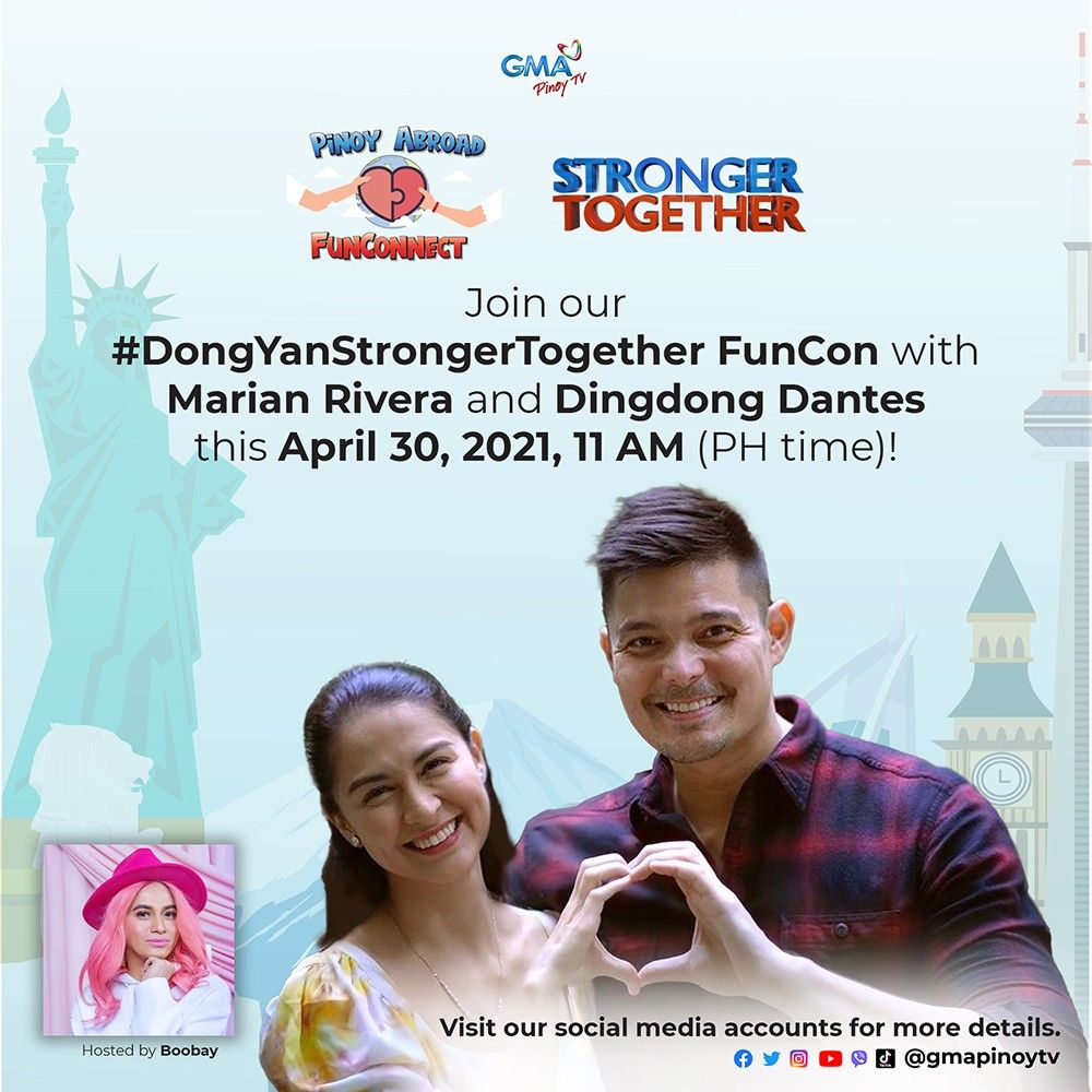 DongYan to Treat GMA Pinoy TV Subscribers to a Memorable Kapuso Experience