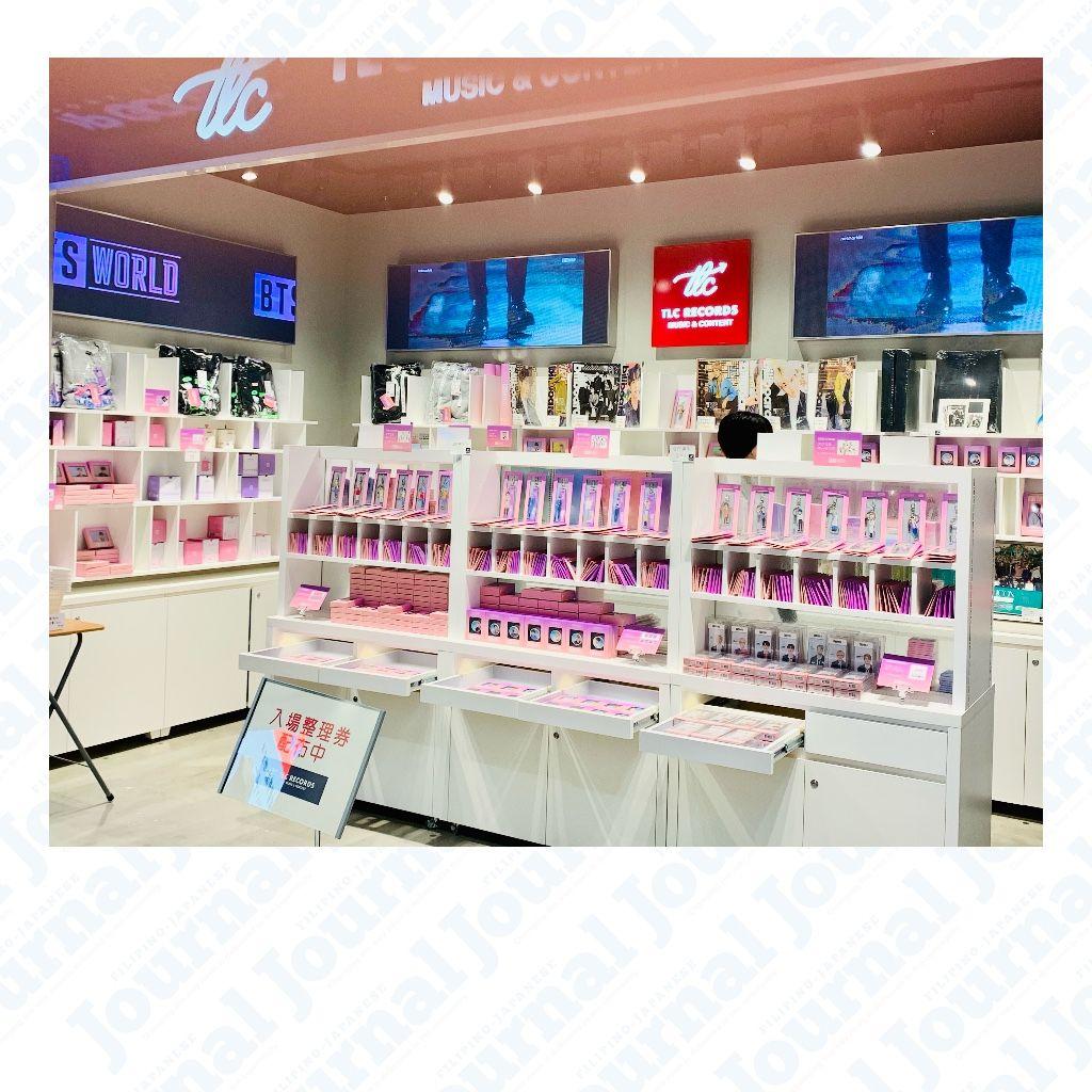IN PHOTOS: BTS Merch at K-Pop Goods Store in Tokyo
