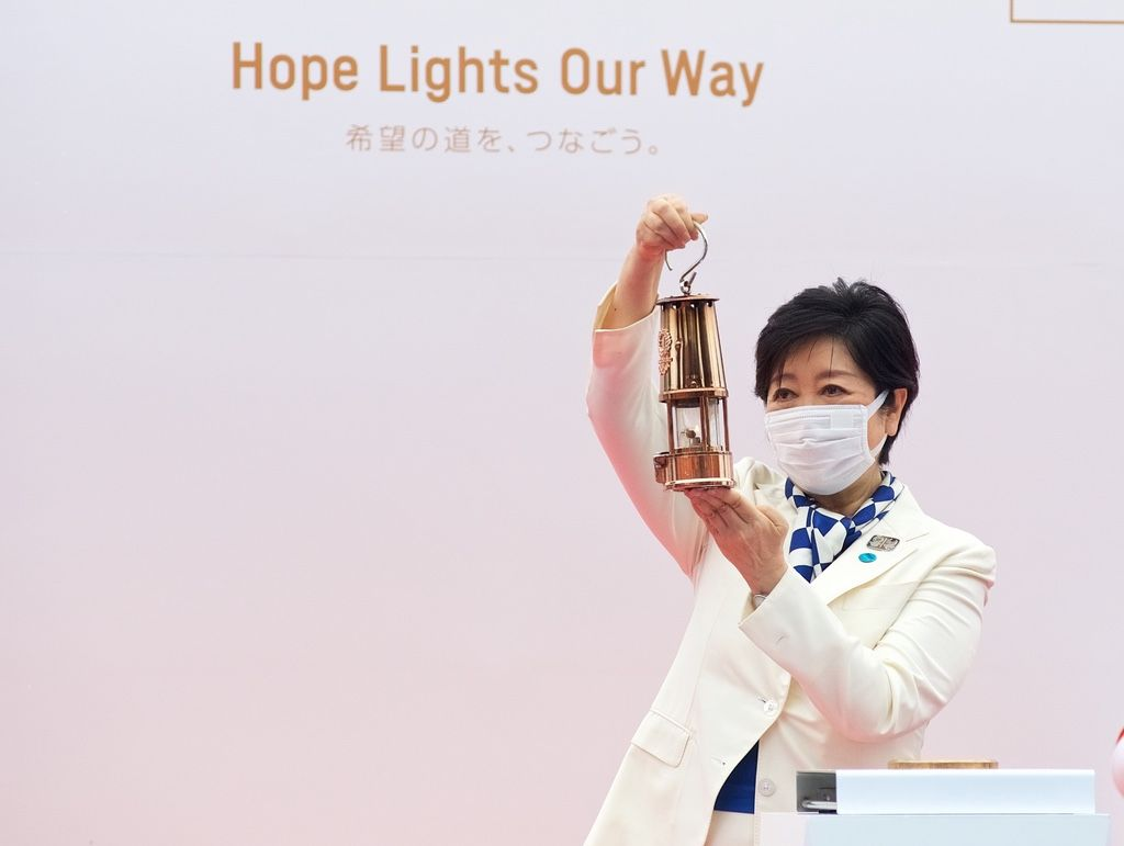 Tokyo Welcomes Olympic Flame