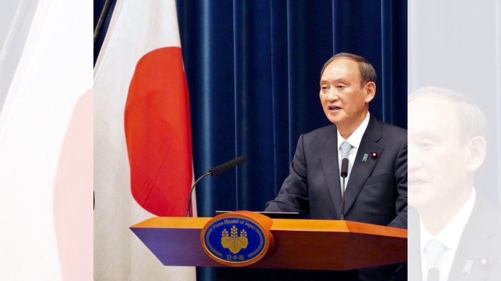 Japan's Suga Vows to Complete COVID-19 Vaccinations by November