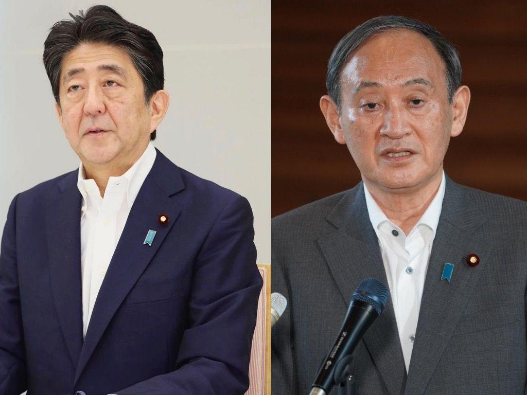 Japan's Abe to Suga: 'Thank You'